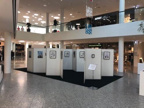 Expo au centre commercial Concorde